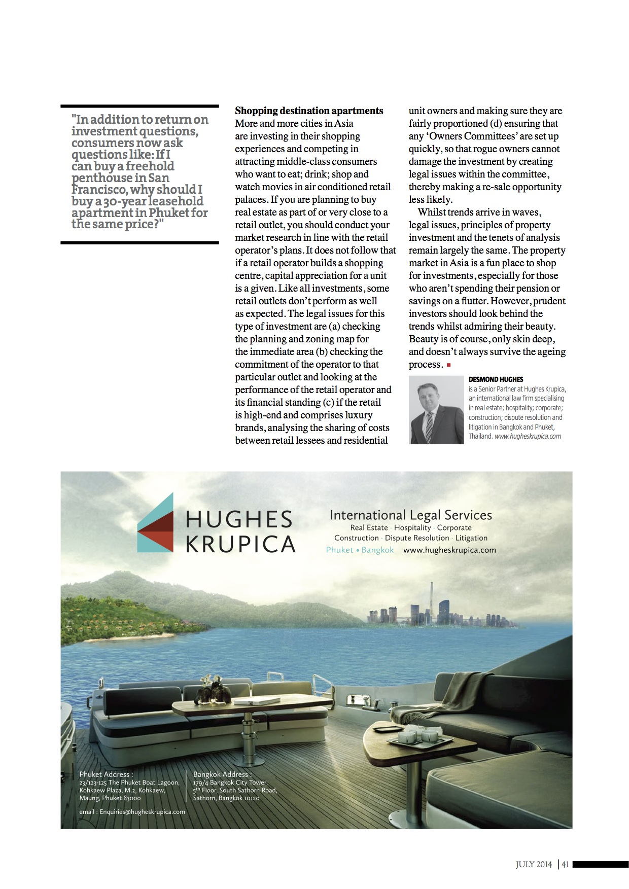 Property Trends in Asia Article  July 2014