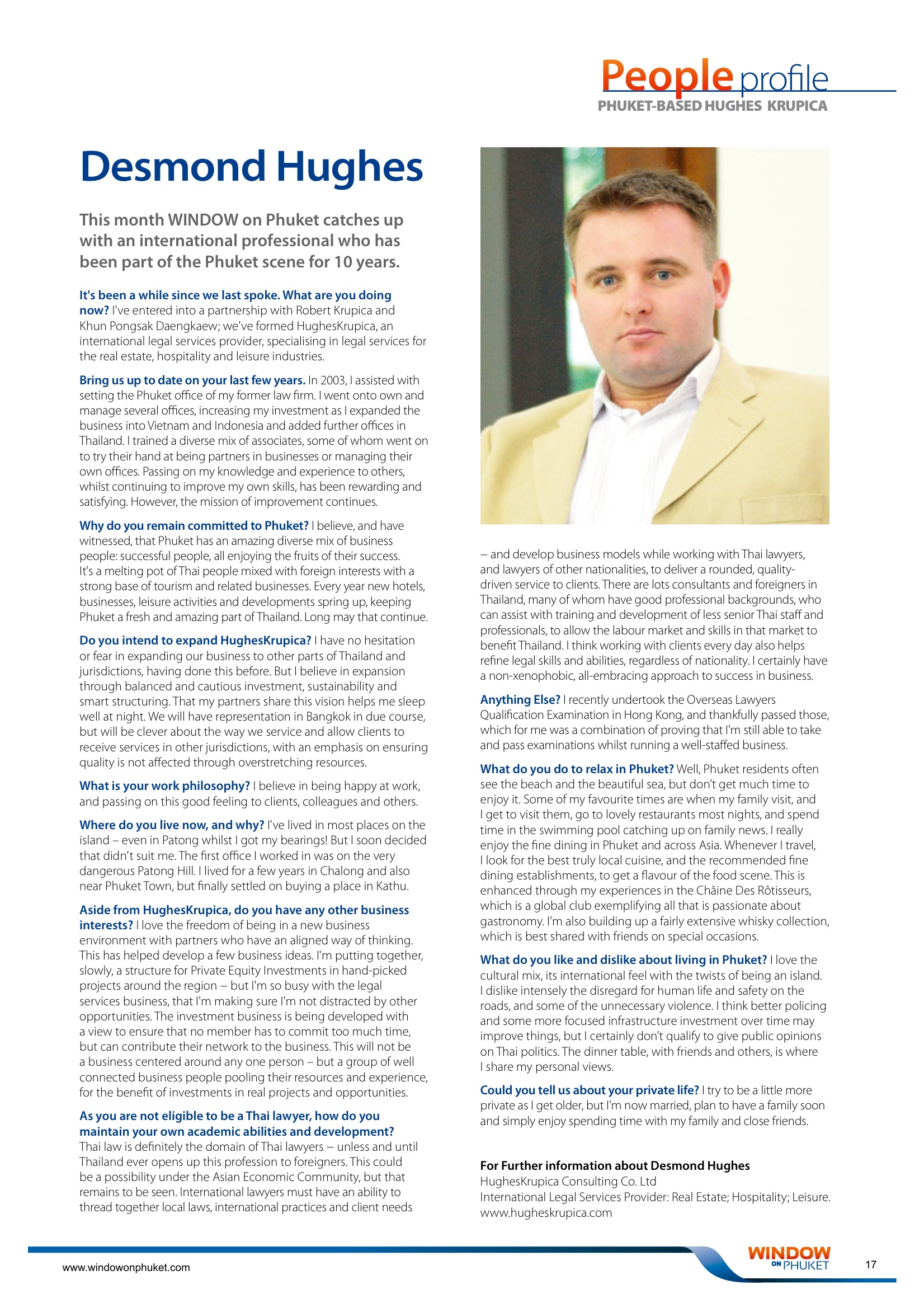 Deal Killers Article 2 published in Property Report South East Asia