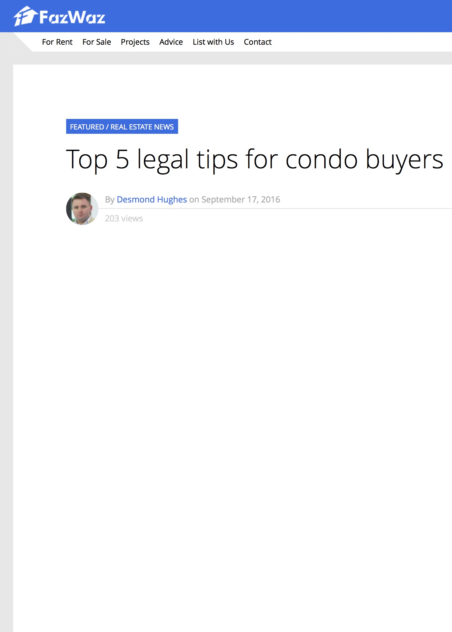Top 5 Legal Tips for Condo Buyers in Thailand